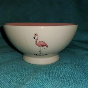 Rae Dunn Magenta Flamenco bowl